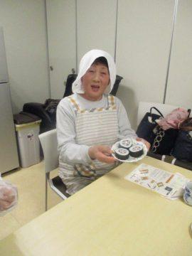 太巻寿司つくり教室開催しました!イメージ