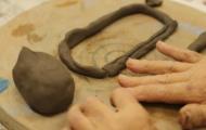 早くも第5弾 陶芸教室 かわいい生徒さんも参加イメージ